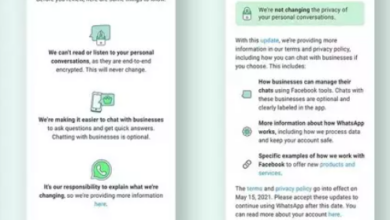 whatsapp new privacy policy update 2021